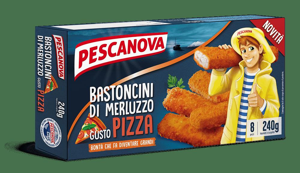 Bastoncini di Merluzzo gusto Pizza
