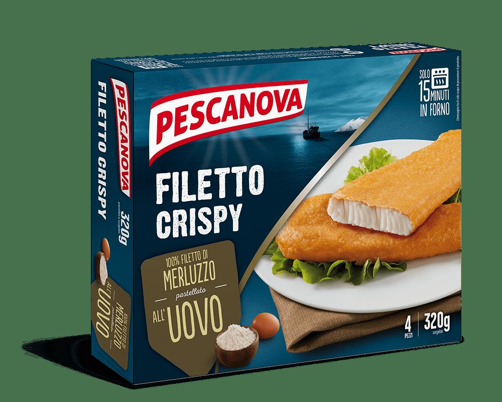 Filetto Crispy all'Uovo