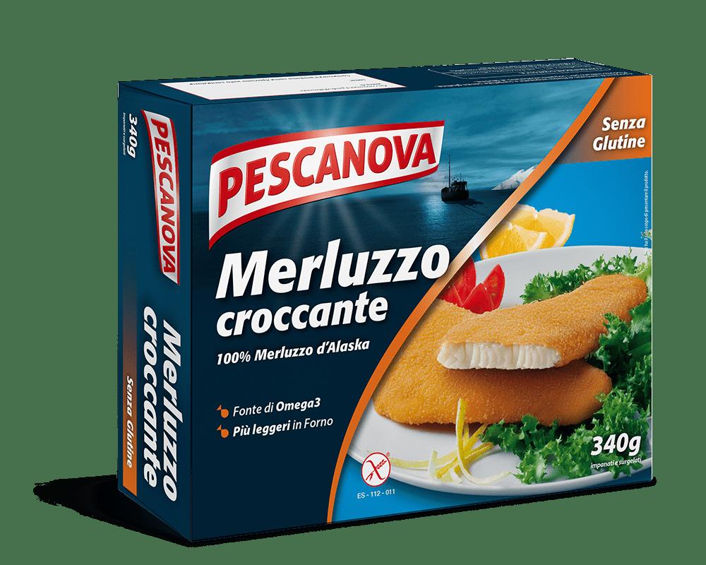 Merluzzo croccante Senza Glutine