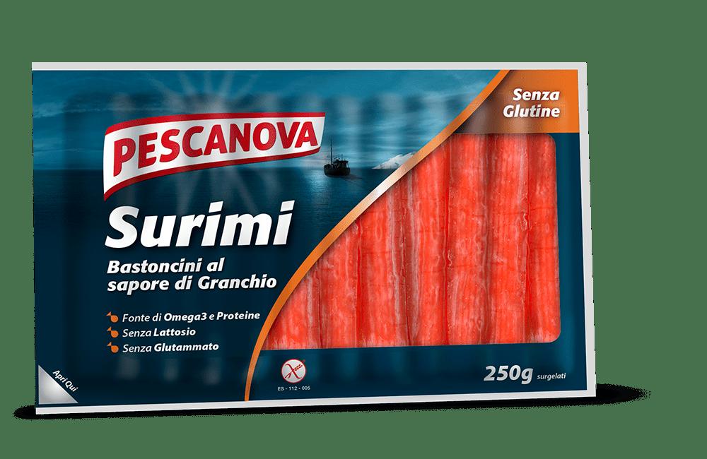 Surimi – Bastoncini al sapore di granchio Senza Glutine
