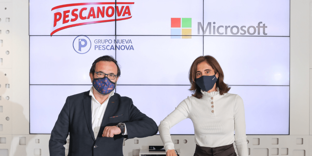 Pescanova e Microsoft insieme per digitalizzare l'acquacoltura e proteggere l'ambiente marino