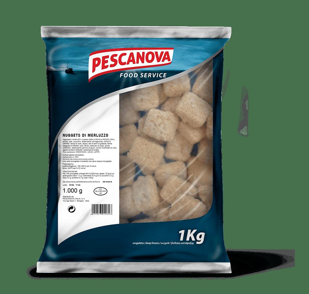 Nuggets di Merluzzo S/Glutine 1kg