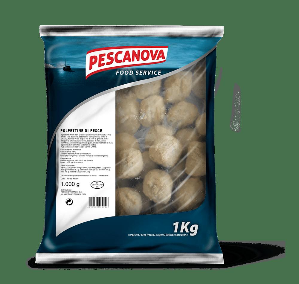Polpettine di Pesce Infarinate 1kg