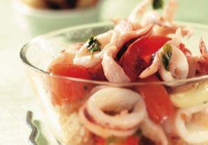 Sautè di Totani con crostini